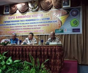 Rakornas Pimpinan PTM 2015