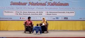 SEMINAR NASIONAL MAHASISWA SEBAGAI AGENT OF CHANGE DALAM MENGHADAPI TANTANGAN MASA DEPAN